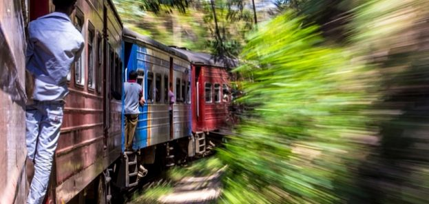 Yanick Targonski was in Sri Lanka on the train from Ella to Kandy when he took this photograph of overcrowded trains and is a finalist this years National Geographic Traveller Photography contest. The grand-prize winner will be announced at the Telegraph Outdoor Adventure & Travel Show on 14 February, and for the first time ever, the shortlisted entries are available to buy through a unique collaboration with theprintspace at art.tt/8vs.