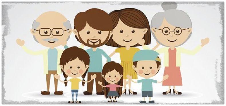 Imagen De Una Familia Feliz Animada: Club De Escritura Fuentetaja