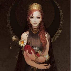 1347c2460 Hécate Diosa de la Luna Negra
